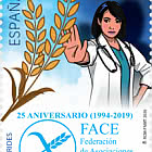 25th Anniversary of the Spanish Federation of Coeliac Associations (Face)