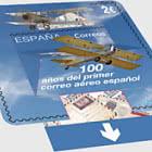第一次西班牙航寄100周年