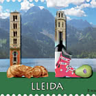 12 Months 12 Stamps - Lleida - CTO