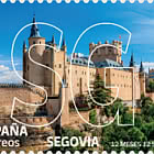 12 Months 12 Stamps - Segovia - CTO