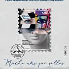 75th Anniversary Of The Spanish Philatelic Service