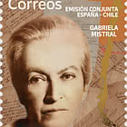 Joint Issue Spain-Chile - Gabriela Mistral