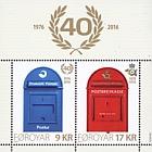 Postverk Føroya 40 years