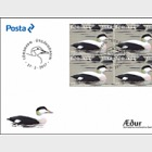 The Eider- (FDC Block of 4)