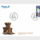 Europa 2017- (FDC Single Stamp)