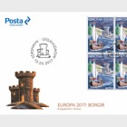 Europa 2017- (FDC Block of 4)