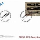Sepac 2017 - Faroese Knife - (FDC Stamp)