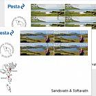 Sandsvatn & Toftavatn - (FDC Block of 4)
