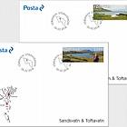 Sandsvatn & Toftavatn - (FDC Single Stamp)
