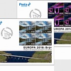 Europa 2018 - (FDC Block of 4)