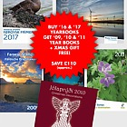 SPECIAL OFFER: Buy '16 & '17 Year Books and get '09, '10 & '11 + Xmas Gift FREE! SAVE £110 (approx.)!