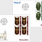 Chasubles - FDC Block of 4