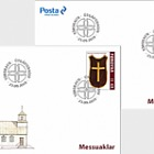 Chasubles - FDC Single Stamp