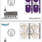 Chasubles II - FDC Block of 4
