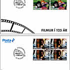 125 Years Of Motion Pictures - FDC Block of 4