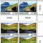 Kirkja and Hattarvik - Lower Marginal Block of 4