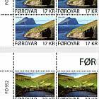 Kirkja and Hattarvik - Upper Marginal Block of 4