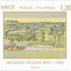 France - Philippines Joint Issue: Jacques Villon & Macario Vitalis