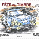 Stamp Day 2018 - Alpine Renault A110