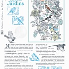 The Birds of our Gardens (Philatelic Document)