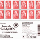 Marianne 2018 - Priority Letter 12 Stamps (Pack of 10 Booklets)