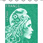 Marianne 2018 - Green Letter (300 Stamps)