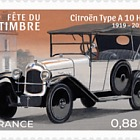 Stamp Day 2019 - Stylish Cars - Citroën Type A10 HP
