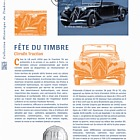 Stamp Day 2019 - Stylish Cars - Citroën Traction