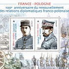 Emission commune France - Pologne