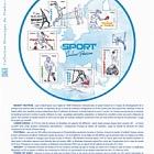 Sport Color Passion (Philatelic Document)