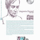 Augustin Fresnel (Philatelic Document)