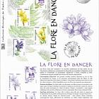 Flora in Danger - Violet of Rouen (Philatelic Document)