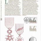 Reims, Legion d'Honneur Crois de Guerre (Philatelic Document)