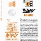 Asterix - 60 Years (Philatelic Document)