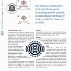 UNESCO 2019 International Year of Indigenous Languages (Philatelic Document)