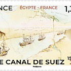 Joint Issue France - Egypt - Suez Canal 150th Anniversary
