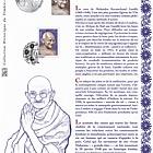 Mahatma Gandhi 1869 - 1948 (Philatelic Document)