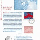 Fabienne Verdier (Document philatélique)