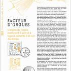 Crafts - Organ Builders (Philatelic Document)