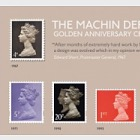 Machin Definitive Golden Anniversary Celebration Stamp Sheet