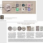 Machin Definitive Anniversary 50 Years of a Design Icon Stamp Sheet