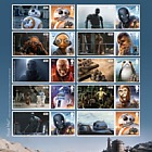 Star Wars: The Last Jedi - Droids Aliens and Creatures Collector Sheet