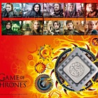 Game of Thrones™ - (Medal Cover - Stamps)