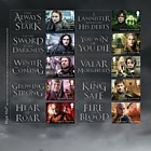 Game of Thrones™ - (Collector's Sheet)