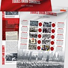 TUC Commemorative Sheet