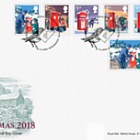 Christmas 2018 - (FDC Set)