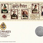 Harry Potter - Limited Edition Silver Proof Hogwarts Medal Cover