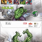 Marvel Hulk Medal Cover