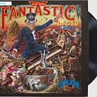 Music Giants III Elton John - Captain Fantastic and The Brown Dirt Cowboy Fan Sheet