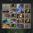 Video Games - Tomb Raider Collector's Sheet
